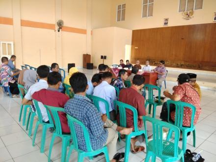 Sosialisasi rencana pembangunan SMA UII oleh Pengurus Badan Wakaf  UII