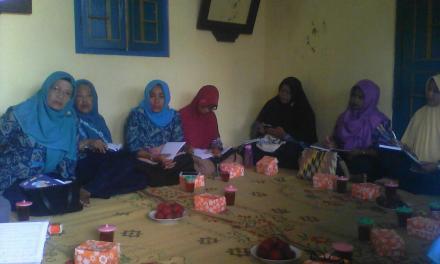 Pertemuan KWT Subur Makmur