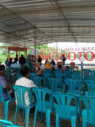 Dusun salakan melaksanakan pemilihan ketua pokdarwis