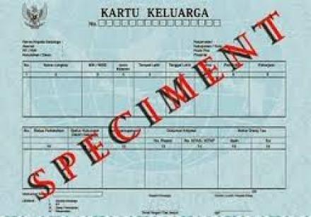 Pembuatan Kartu Keluarga (KK)