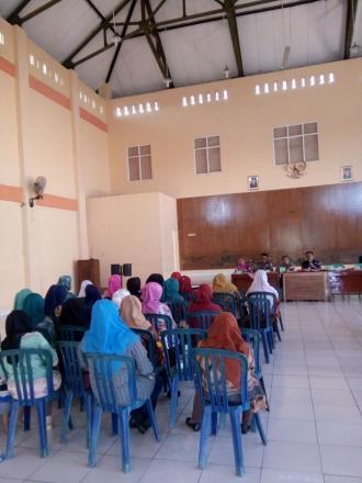 Sosialisasi pemilihan BPD khusus perempuan