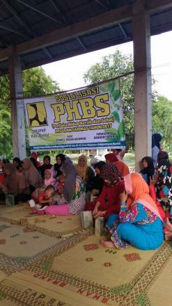 Sosialisasi PHBS Program Sanimas Tahun 2017 Kempul Kulon