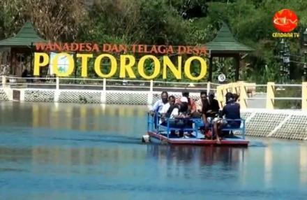 Wisata Alternatif Telaga Desa Potorono