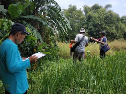 Inventarisasi Tanah Desa Potorono wilayah utara