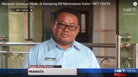 Merawat Generasi Muda, di Kampung KB Mertosanan Kulon (Liputan NET. YOGYA)