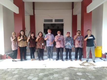 Kalurahan Potorono Mendapat Kunjungan Dari Tim Pusat Kajian Masyarakat BAMAG LKK Indonesia