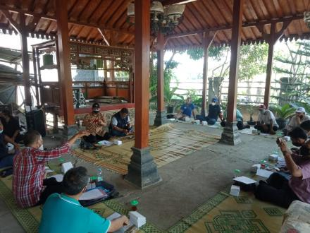 Sosialisasi Pra Pembangunan Infrastruktur Jalan Masuk Wisata Telaga dan Wana Desa Potorono