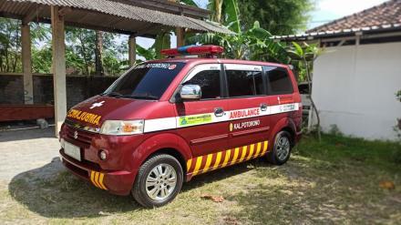 Kalurahan Potorono Miliki Mobil Ambulance Desa
