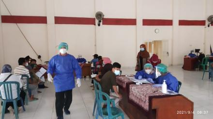 180 Warga hadiri Vaksinasi di Kalurahan Potorono